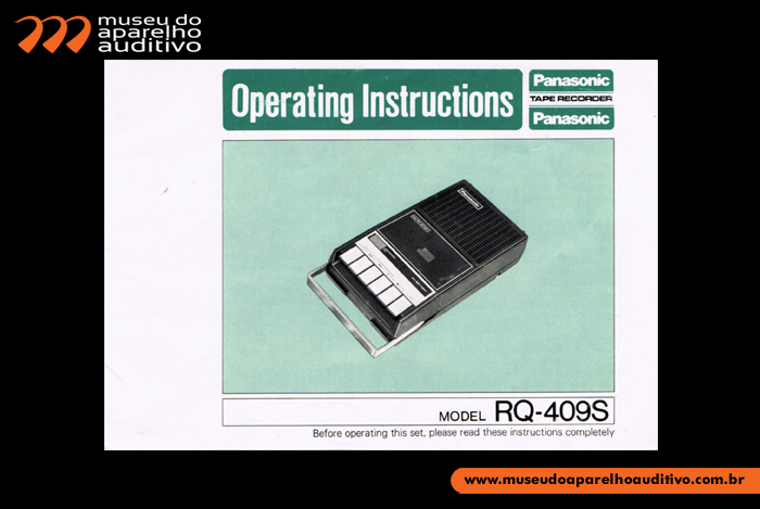 Operating Instructions